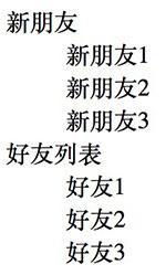 自定义列表